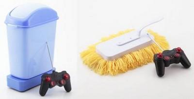 Японцы придумали гаджеты для уборки квартиры