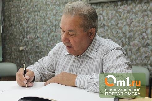 Полежаев выпустил книгу к юбилею омского кадетского корпуса