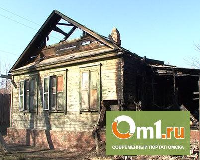 В Омской области 6-летний мальчик спалил частный дом
