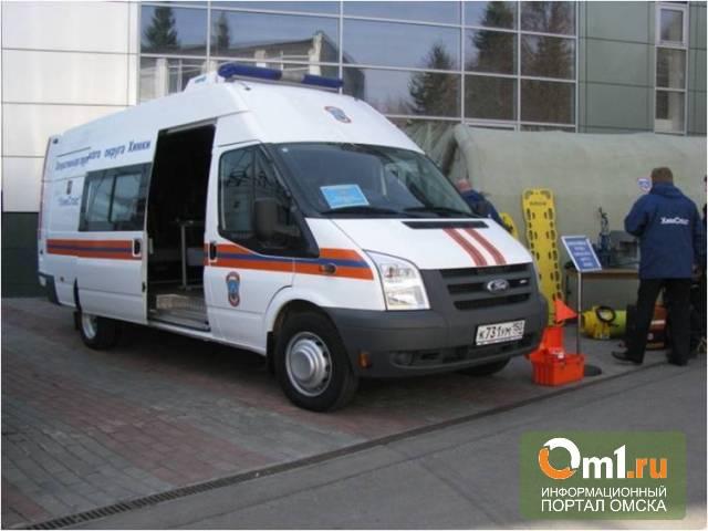 В Омске на «Промтехэкспо» покажут подвижной пункт КЧС на базе автобуса