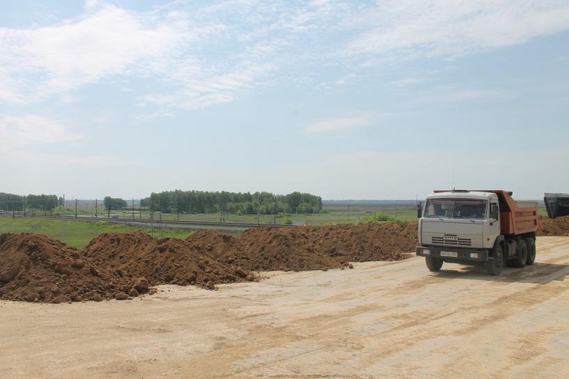 Строительство окружной дороги Омска завершится в ноябре
