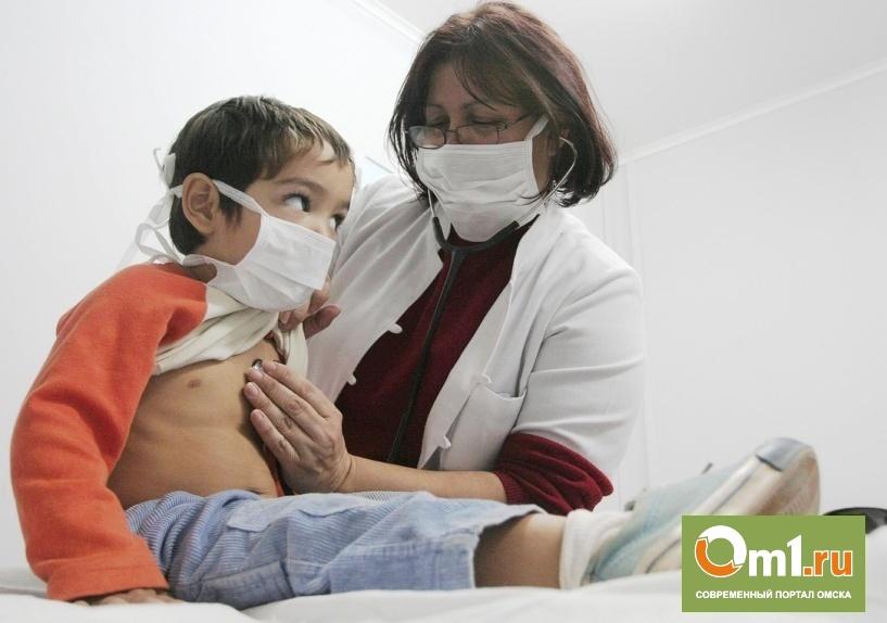 В Омской области уже 33 ребенка заболело менингитом