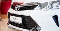 В Омске представили Toyota Camry 2.0