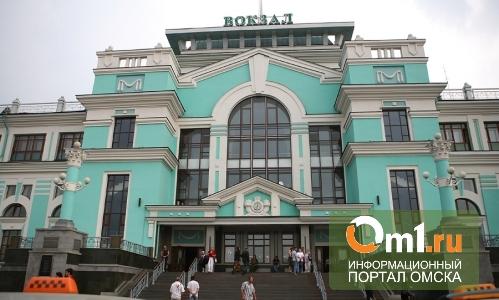 В Омске из-за Олимпийского факела ж/д вокзал закроют на три часа
