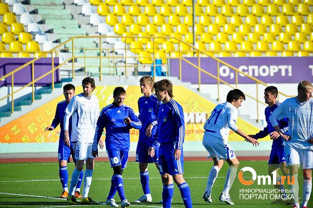 Первый матч в первенстве России «Иртыш» сыграл вничью