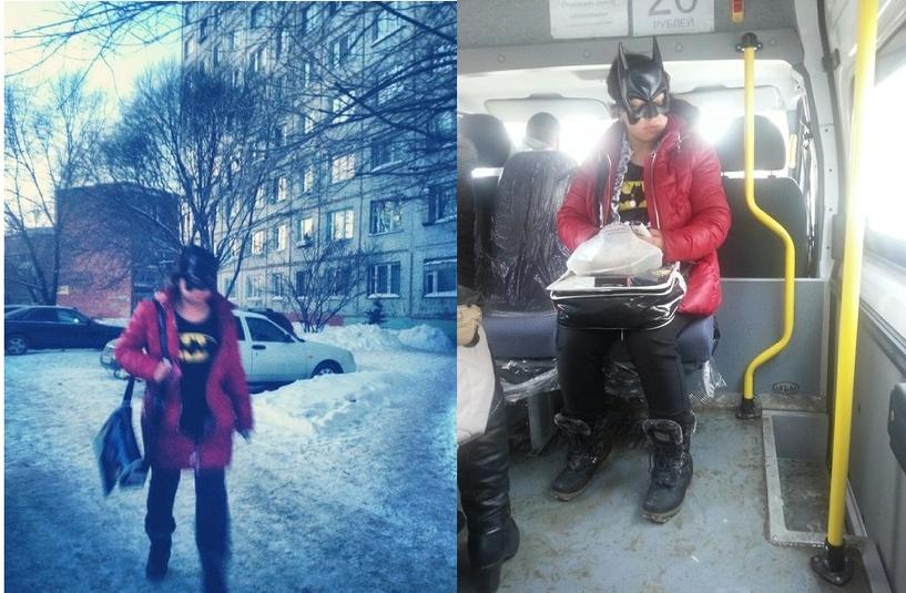В Омске появилась подруга Бэтмена