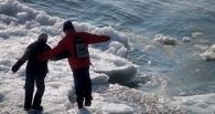 МЧС предупреждает омичей о тонком опасном льде на реках