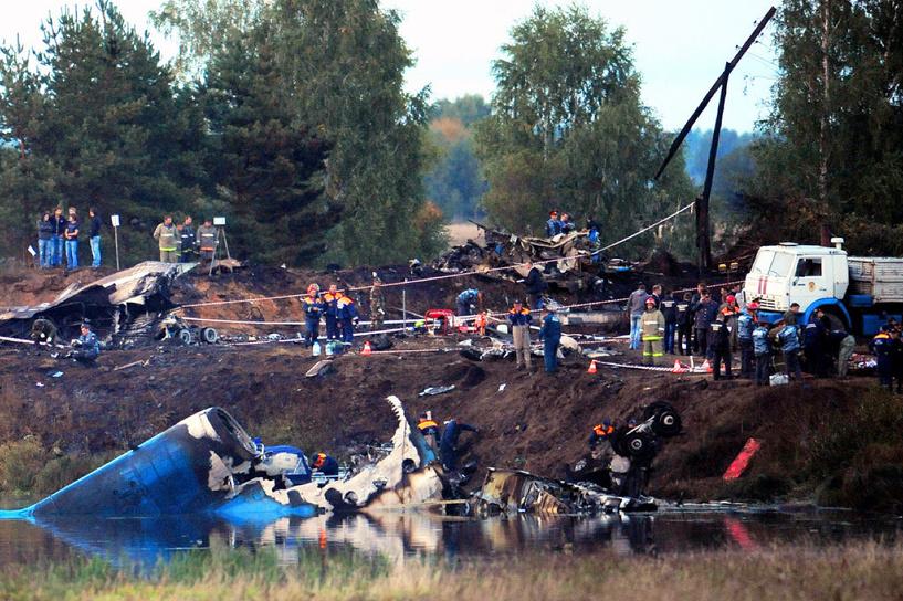 Суд амнистировал виновного в авиакатастрофе, в которой разбился ХК «Локомотив»