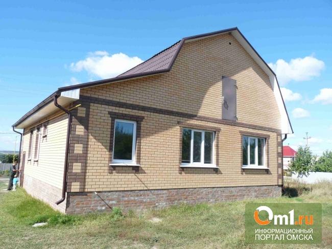 Построенный в Омской области дом уже через год пришел в негодность