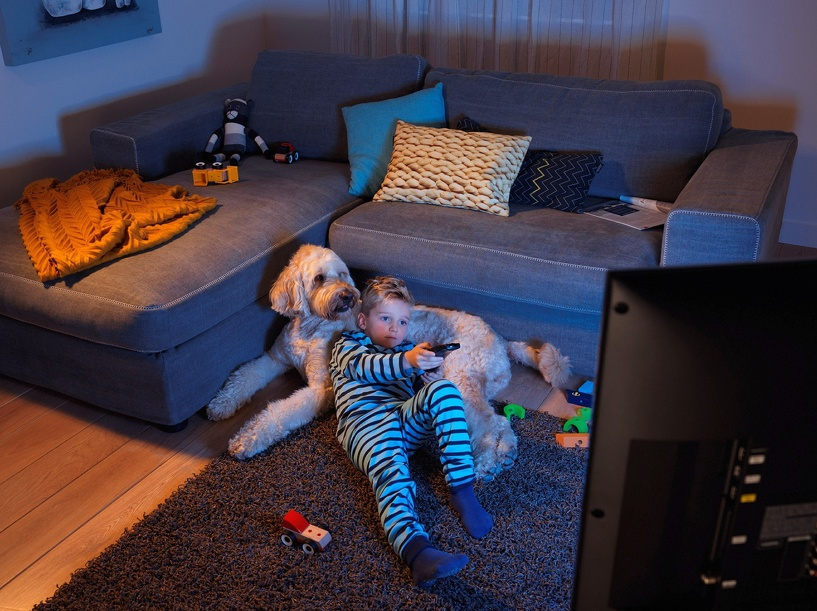 Омичи предпочитают смотреть детские каналы