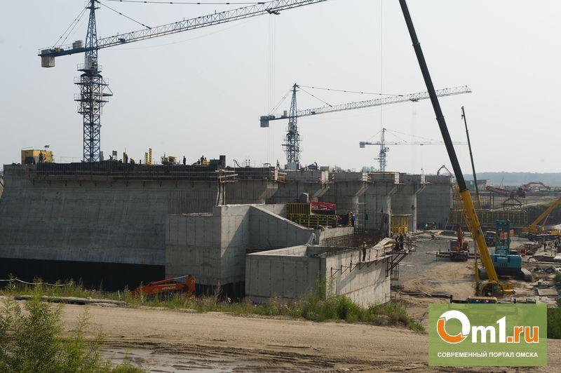 Один из водосливов Красногорского гидроузла заработает уже к началу ноября