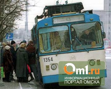 В Омске по Интернациональной перестанут ходить троллейбусы