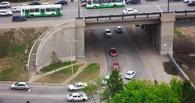 Омским водителям организовали полосу непрерывного движения