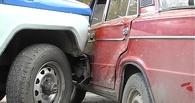 В Омске подросток протаранил полицейский автомобиль