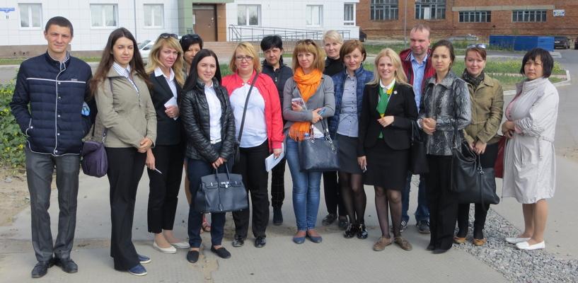 Сотрудники Россельхозбанка провели экскурсию по новостройкам