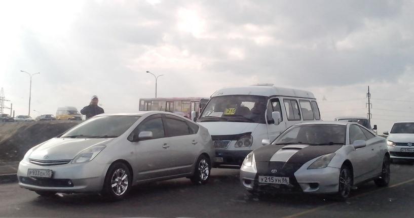 В Омске ДТП на Завертяева стало причиной километровой пробки на виадуке
