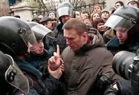Алексея Навального арестовали на семь суток