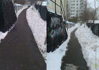 Собянин уволил начальника района Москвы, где дороги чистили фотошопом