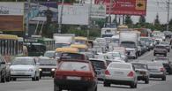 Омичи стоят в пробках из-за аварии на проспекте Мира