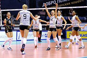 «Омичка» вышла на второе место в предварительном этапе чемпионата России-2014