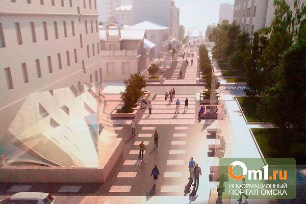 В Омске готовятся к строительству подземного перехода у «Голубого огонька»