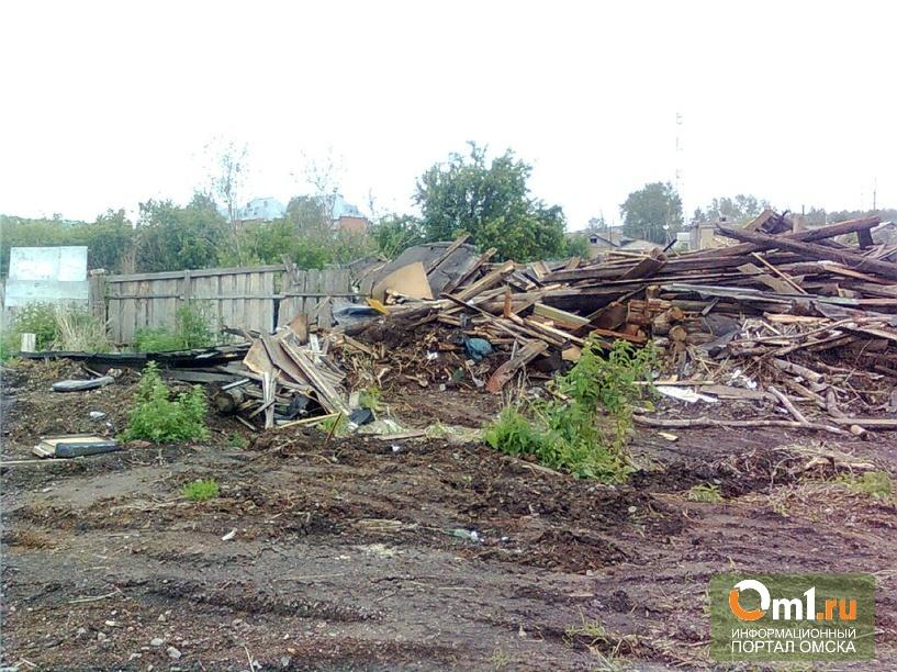 В Омске в доме-призраке были зарегистрированы мигранты