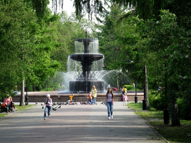 В Омске городские фонтаны заработают 8 мая