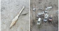 В Омске на детской площадке нашли снаряд гранатомета