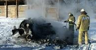 Названы три возможные причины падения вертолета в Омской области