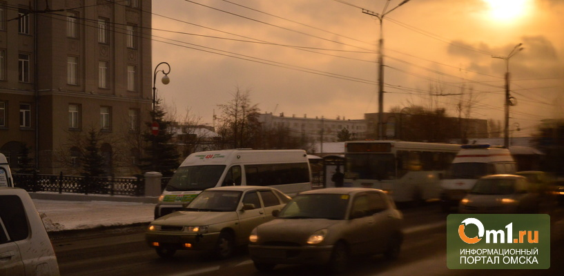 Количество общественного транспорта в Омске может сократиться в два раза