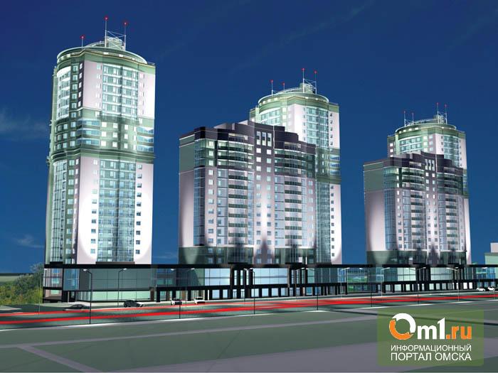 Новые 25-этажные дома в Омске будут строить на болоте