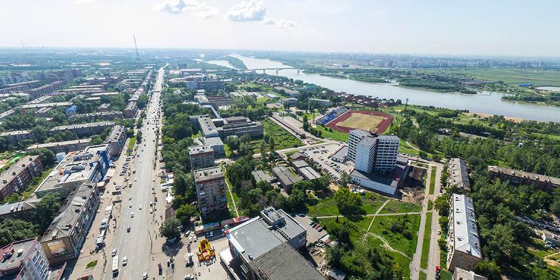 Омск признали одним из самых многоэтажных городов Сибири