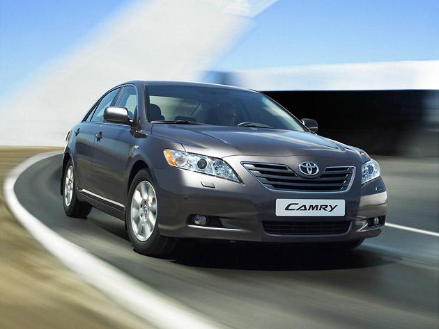 Toyota отзывает в России более 100 тысяч автомобилей Camry