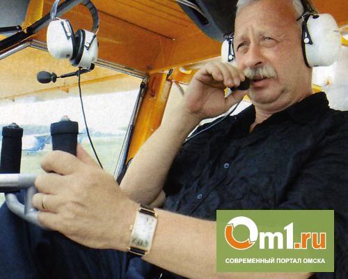 Якубович прилетел в Омскую область в качестве «волшебника на голубом вертолете»