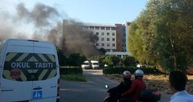 В турецком курортном городе Анталья прогремел мощный взрыв