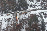 При крушении поезда в Альпах погибла россиянка