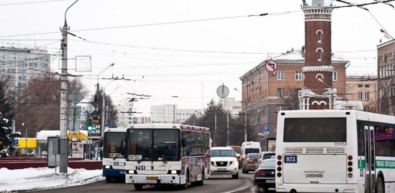 В Омске изменится схема движения общественного транспорта