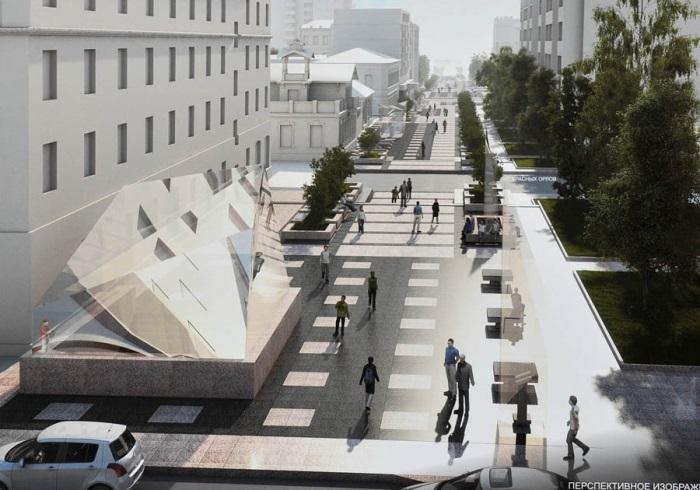 Часть улицы Чокана Валиханова станет парковкой