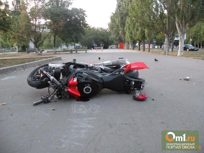 В Омске шквал ДТП с мотоциклами