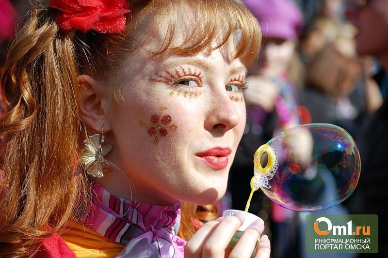 Омская мэрия решила «примазаться» к Параду мыльных пузырей