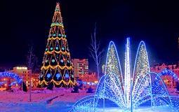 Омские бизнесмены будут соревноваться в украшении города к Новому году