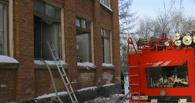 Из горящей школы в Омске сами эвакуировались двести детей