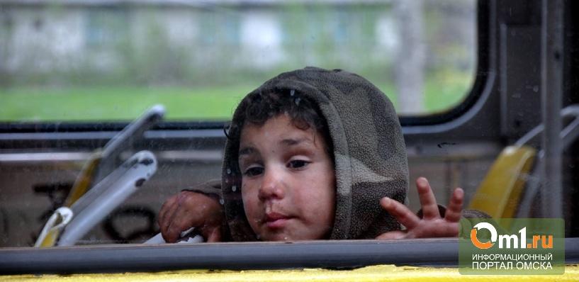 Омские полицейские ищут родителей 5-летнего мальчика