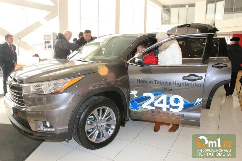 Жизненные силы Toyota Highlander: Омску представили новинку