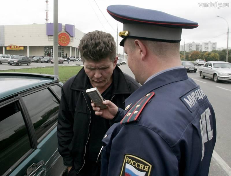 Омские гаишники весь день будут ловить пьяных водителей