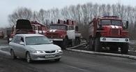 Поселок в Омской области подтапливают талые воды