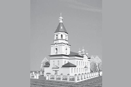 В Омске заново построят Воскресенский собор