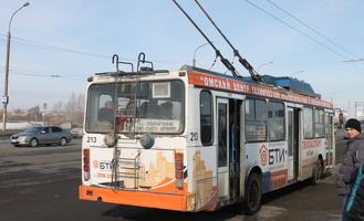 Троллейбусы маршрута №67 по вечерам будут ходить через центр