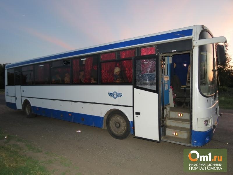 Под Омском хулиган расстрелял рейсовый автобус в Тевриз