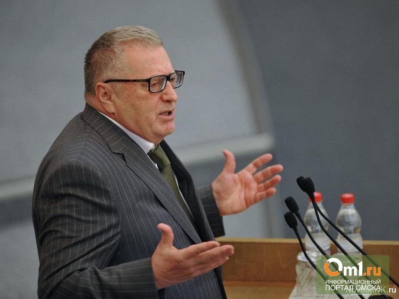 Жириновский нашел в Думе опасное излучение